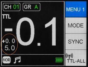 Jinbei-HD-400-Pro-Wyświetlanie-podpowiedzi-TTL-M