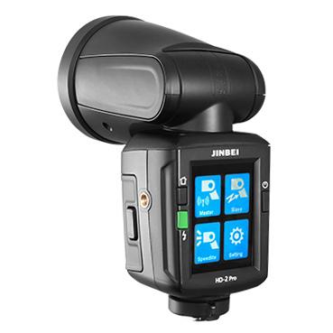 Reporterska-lampa-błyskowa-Jinbei-HD-2-Pro-dotykowy-wyświetlacz